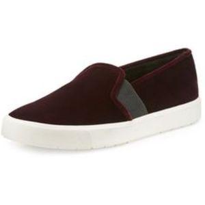 Vince Velvet Sneaker 6.5